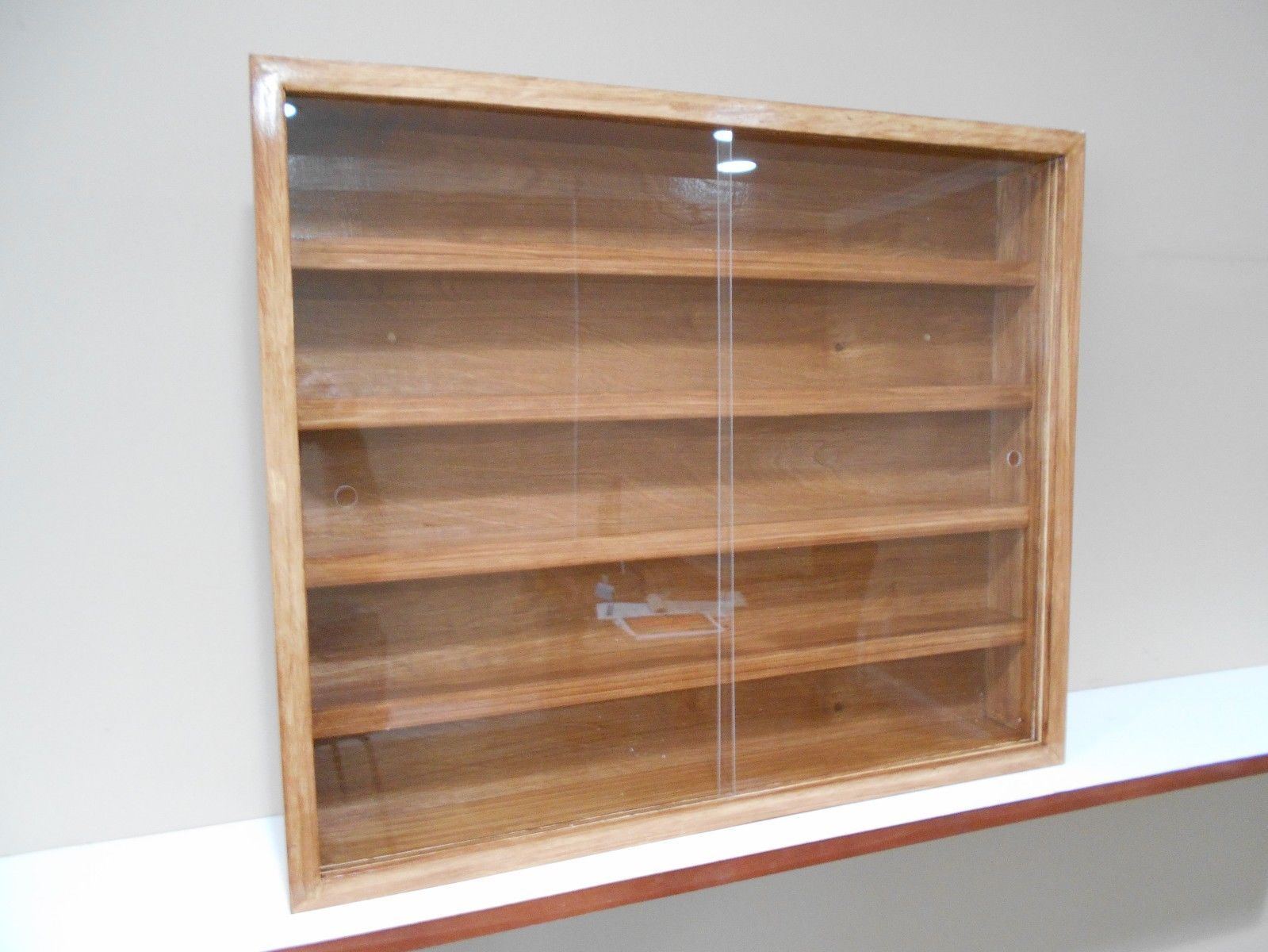 Showcase Wall Display Case Cabinet Shelves For Collectibles Cars Others B For Sale 59 00 See Photos Functional Display Case Shelves Wall Display Case