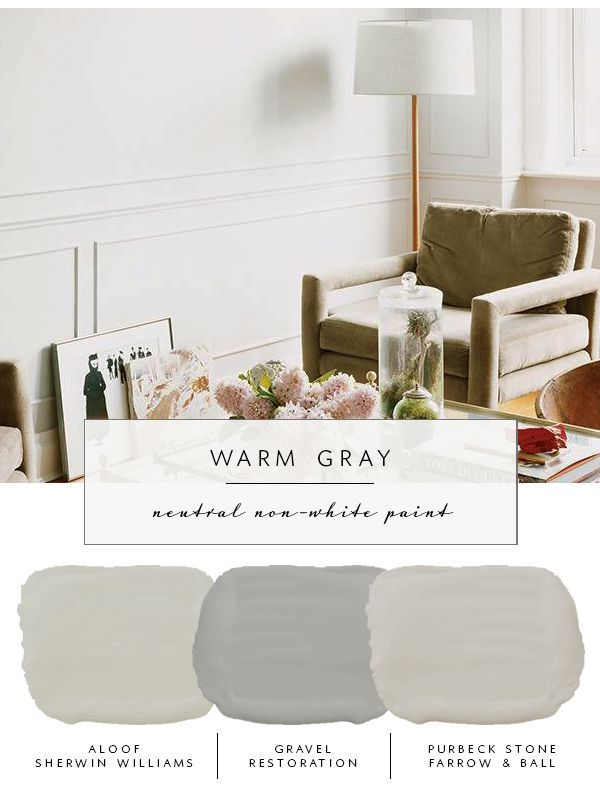 Our The Coco Kelley Guide To Best Neutral Paint Colors That Aren T White Warm Grays