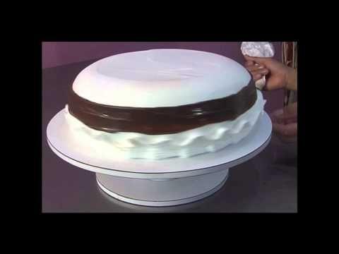 Decoracion De Tortas En Crema Chantilly Con El Chef Juan Carlos