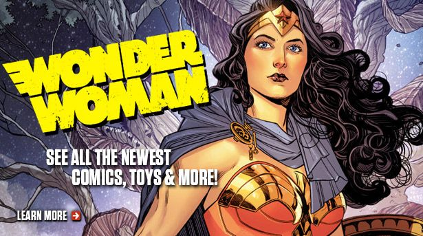 Wonder Woman: The Amazon Princess DC's Wonder Woman is the full package of beauty, brains, and brawn! Princess Diana of the Amazon warrior tribe has been a feminist icon since her first appearance back in 1941. Take home Diana of Themyscira today and save 10-70%! We have a wide selection of Wonder Woman comics, graphic novels, action figures, statues, apparel, and more. http://tomatovisiontv.wix.com/tomatovision2#!women-in-comics/clvl