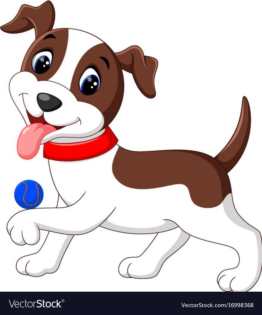 Cute French Bulldog Puppy Waving Paw Cartoon Pets Drawing Cute Dog Cartoon Paw Cartoon