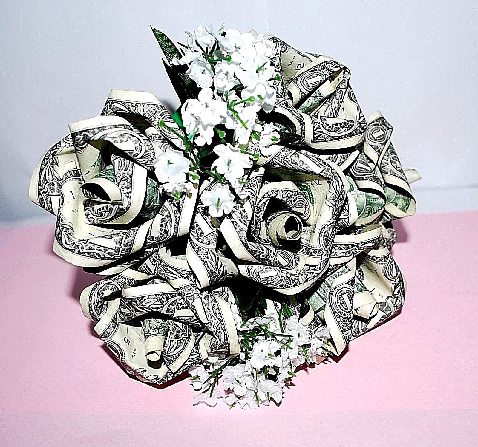 EASY Amazing Money FLOWER Origami out of two Dollar bills Tutorial ... | 1499x1600