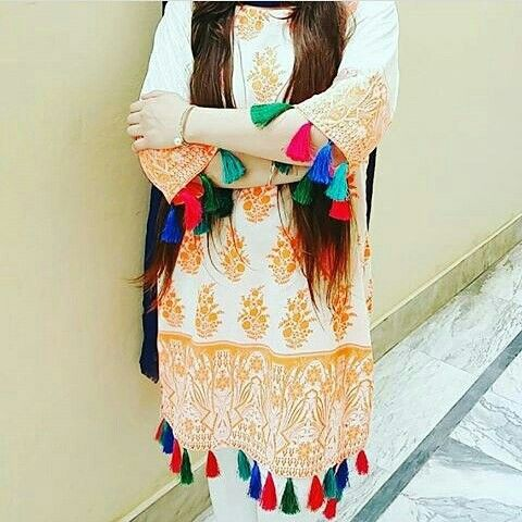 stylish simple girls dress