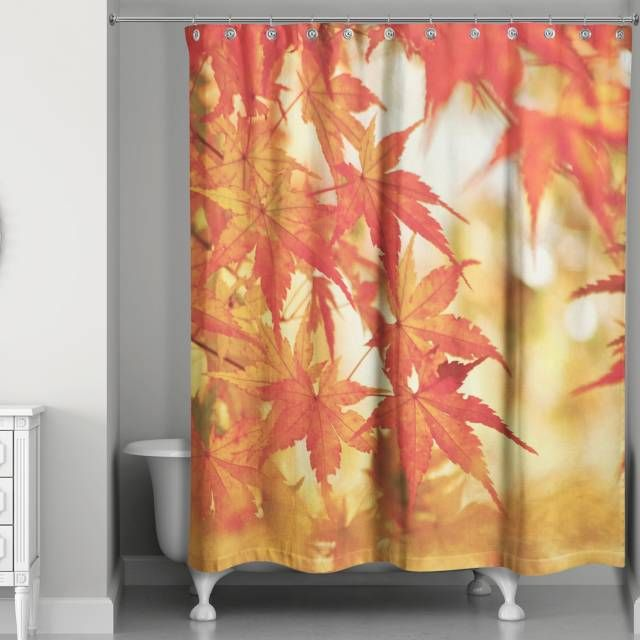 product image for Autumn Leaves Shower Curtain