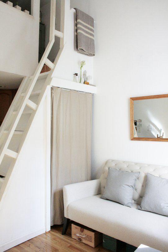 Pin de karla mora en ideas lofts for Departamentos en espacios reducidos