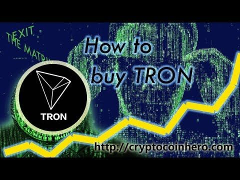 Where to buy tron cryptocurrency in australia