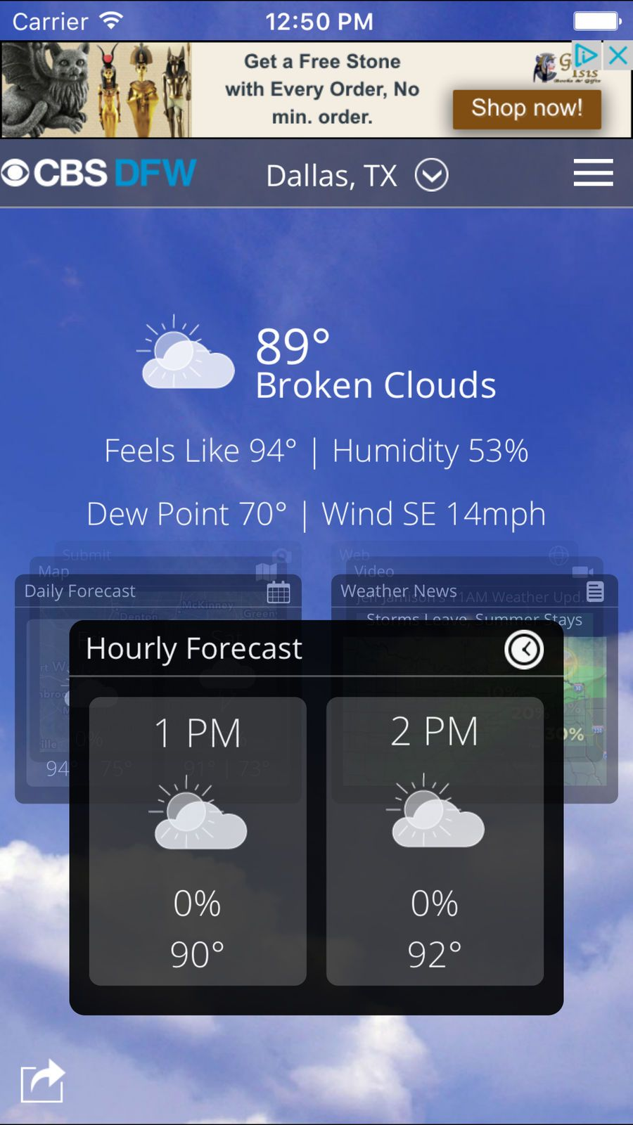 CBS DFW Weather iosappsappLocal New york weather