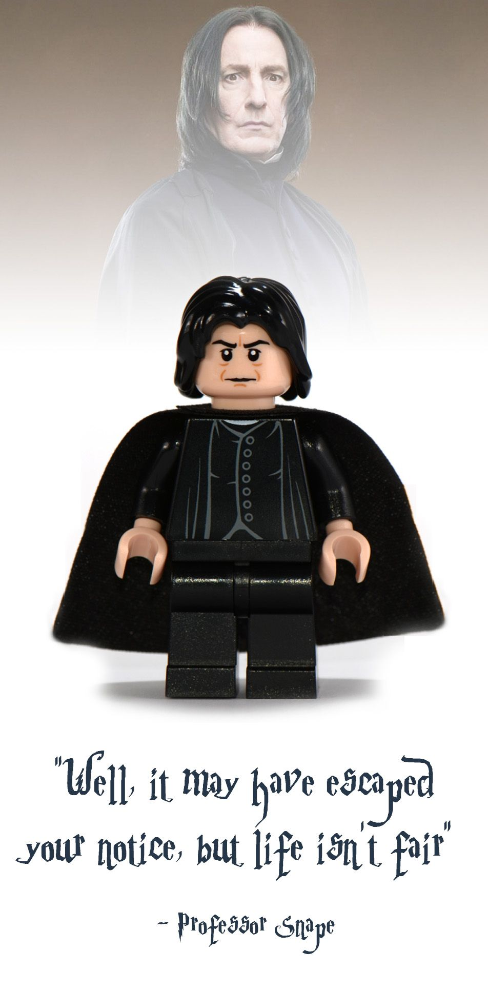 ef013898b Professor Snape Lego Minifigure - Harry Potter Collectibles Harry Potter  Severus Snape