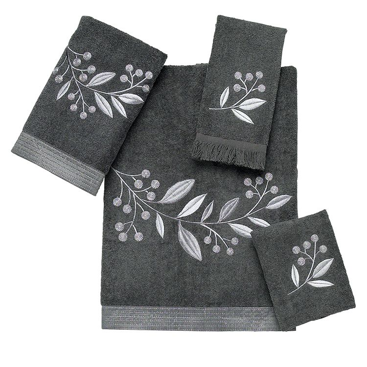 towels decorative bath sets avanti 01971s | bath and bed linens