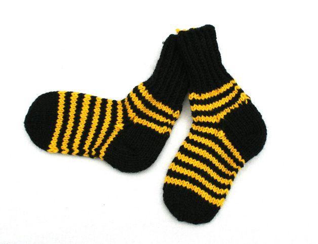 bumblebee baby socks