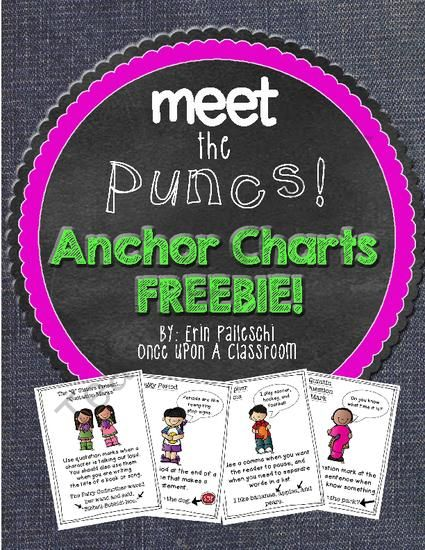 best 25  punctuation anchor charts ideas on pinterest