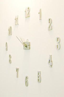 High Quality Frameless Clock #DIY #clock Photo Gallery