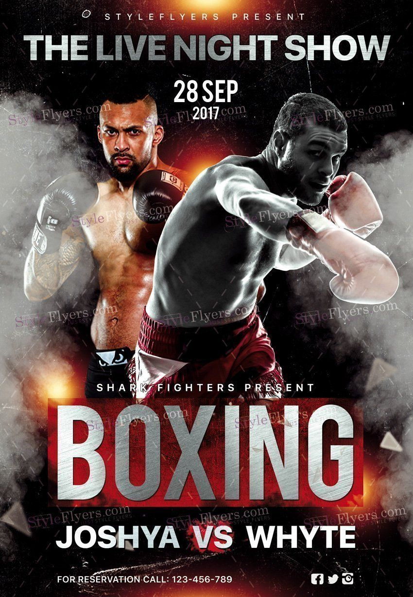 Boxing Day Psd Flyer Template Psd Flyer Templates Flyer