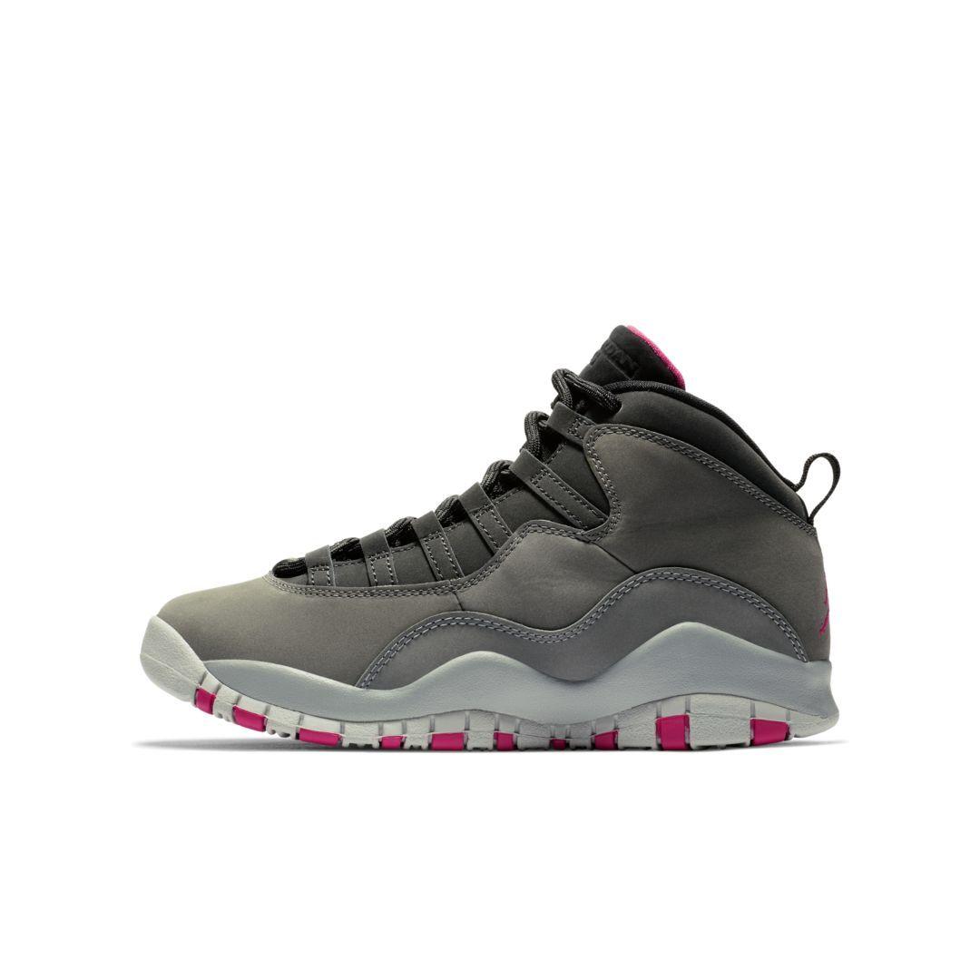 4218040f82699e Air Jordan 10 Retro Big Kids  Basketball Shoe Size 5Y (Dark Smoke Grey)