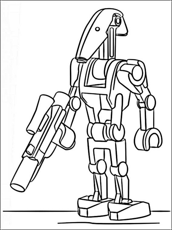 Lego Star Wars Coloring Pages 6 | Star wars colors, Lego ...