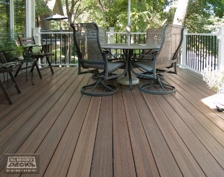 Evergrain envision deck spiced teak building products for Envision decking