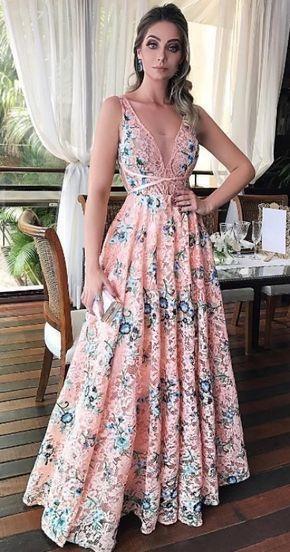 Pin em Vestidos Florados