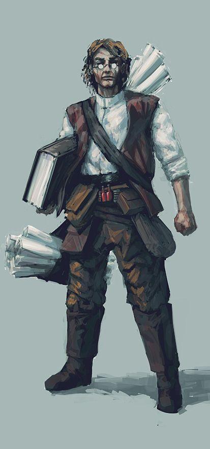 Tobias vynálezce. Sentinela e ritualista chefe do Assentamento Central. Segue a linha devianiana.