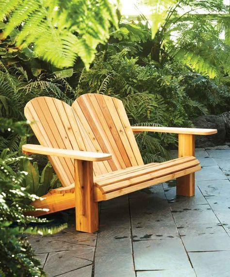 Adirondack Chair Bauanleitung , Diy Double Adirondack Chair Plans How To Make A Loveseat