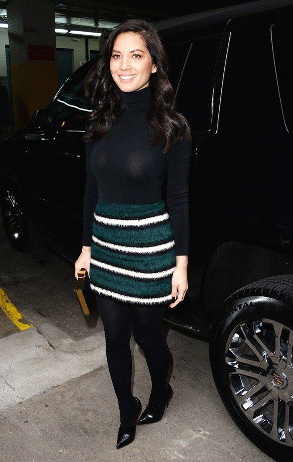 How Selena Gomez, Alexa Chung, and More Wear Black Tights ...