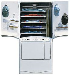 Maytag Neptune Gas Drying Center It Combines A Tumble Dryer With Unique Cabinet That Gently Dries Prevents Shrinkage Removes Odors