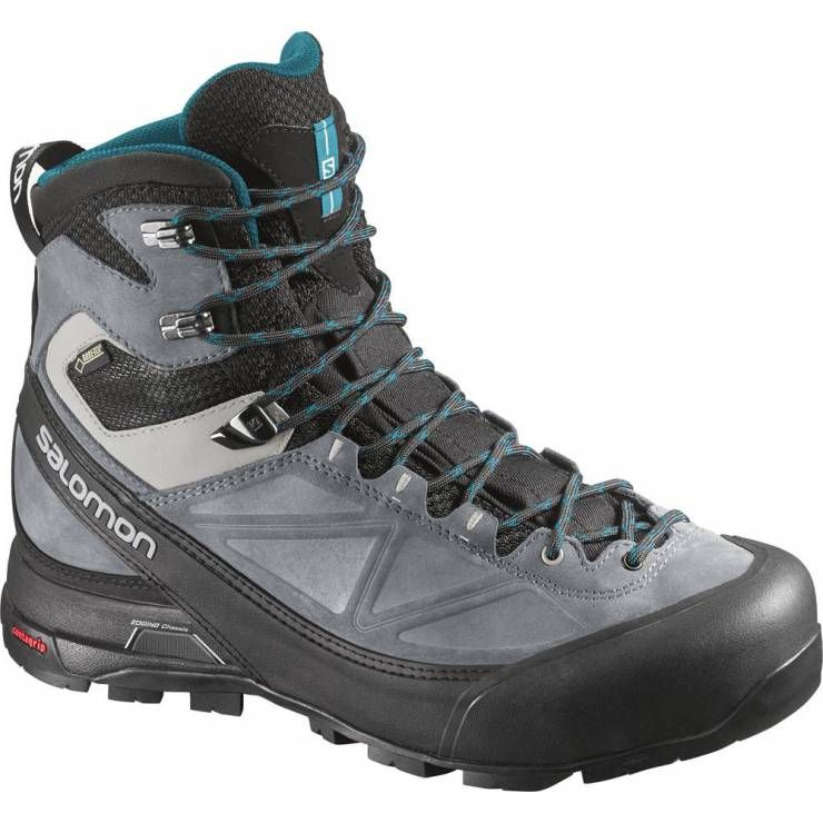 Salomon W Mtn X Shoes Gtx Grey Blue Black Alp Pinterest rwRrIU