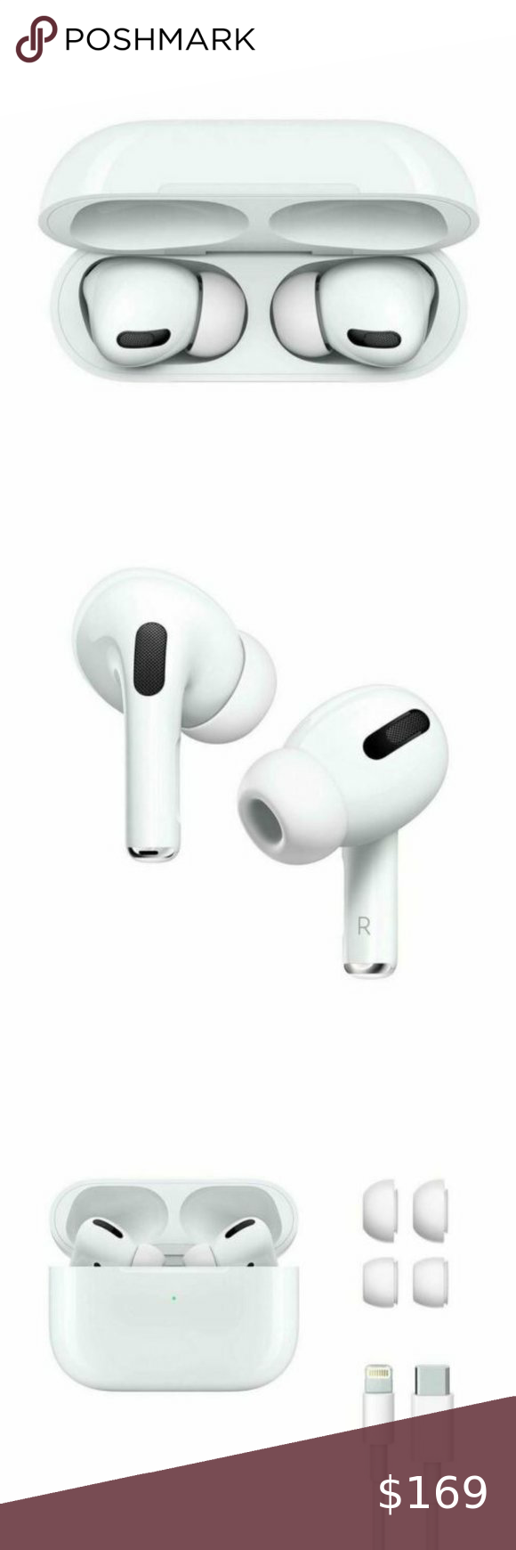 Apple Airpods Pro Mwp22am A Bluetooth W Wireless Apple Airpods Pro Mwp22am A Bluetooth W Wireless Charging Case Us Warranty This Airpods Pro Bluetooth Apple