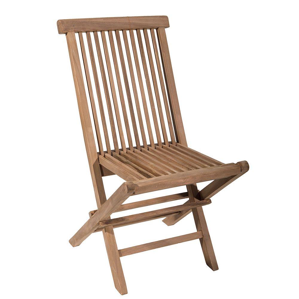 Teak Folding Chair Folding chair, Chair, Outdoor chairs