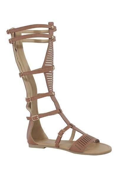 30d40429b75 Tall Brown Gladiator Sandals (final sale)