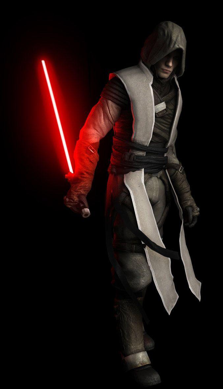 Galen Marek Aka Starkiller Star Wars The Force Unleashed Dark Side Star Wars Star Wars Rpg Star Wars Jedi
