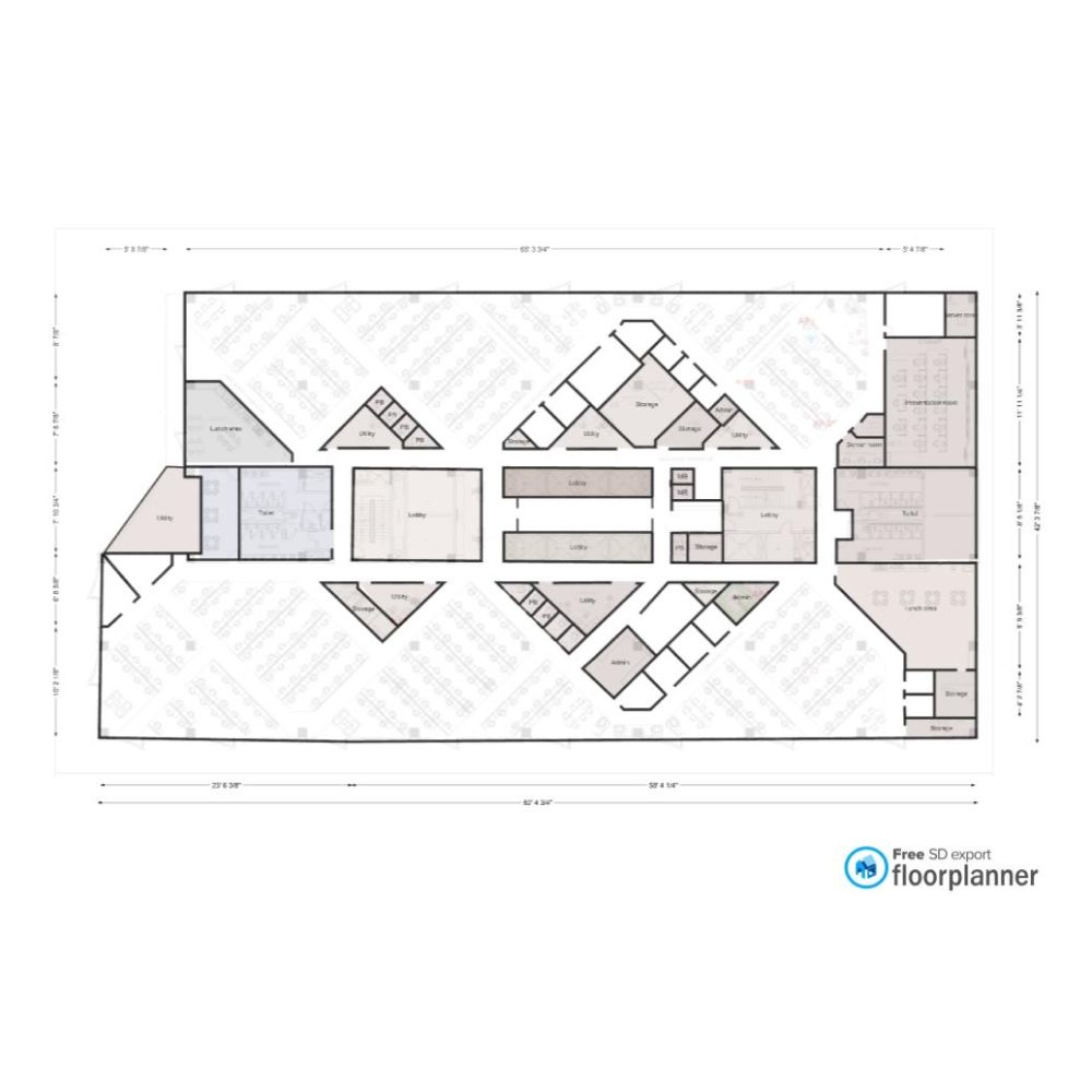 Very Interesting 2d Plan Made By A Member Of The Floorplanner Community In 2020