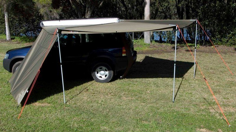 Rhino Rack Batwing Awning Tapered Zip Extension Truck Canopy Diy Awning Tent Awning