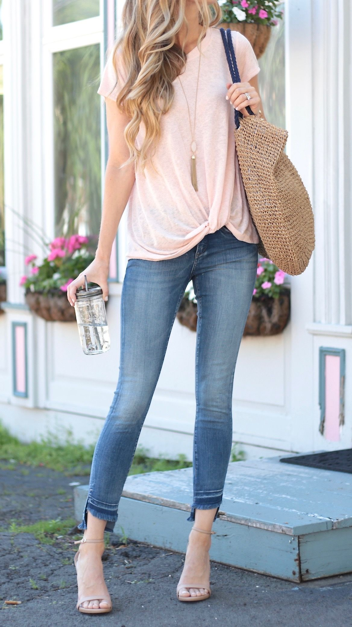 Pink Summer Outfits - An Instagram Round-up via ...