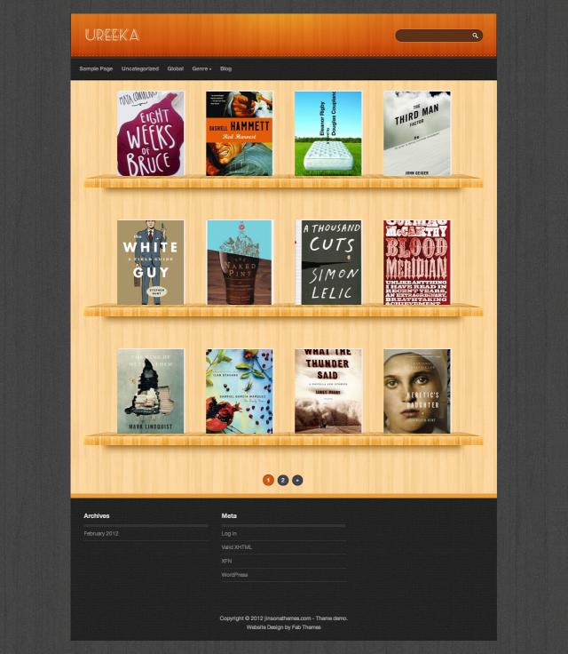 19 Free WordPress themes like Pinterest