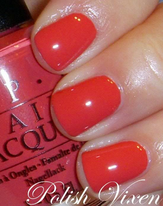 OPI Tropical Punch (discontinued favorite)