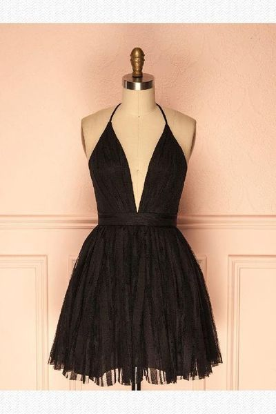 Custom Made Admirable Homecoming Dresses, Homecoming Dresses Black from HotProm