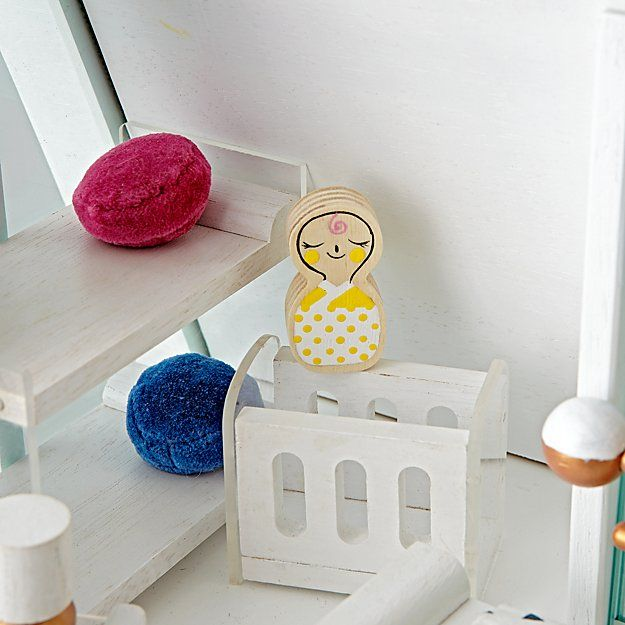 A Frame Doll Furniture The Land of Nod Toys and Playrooms