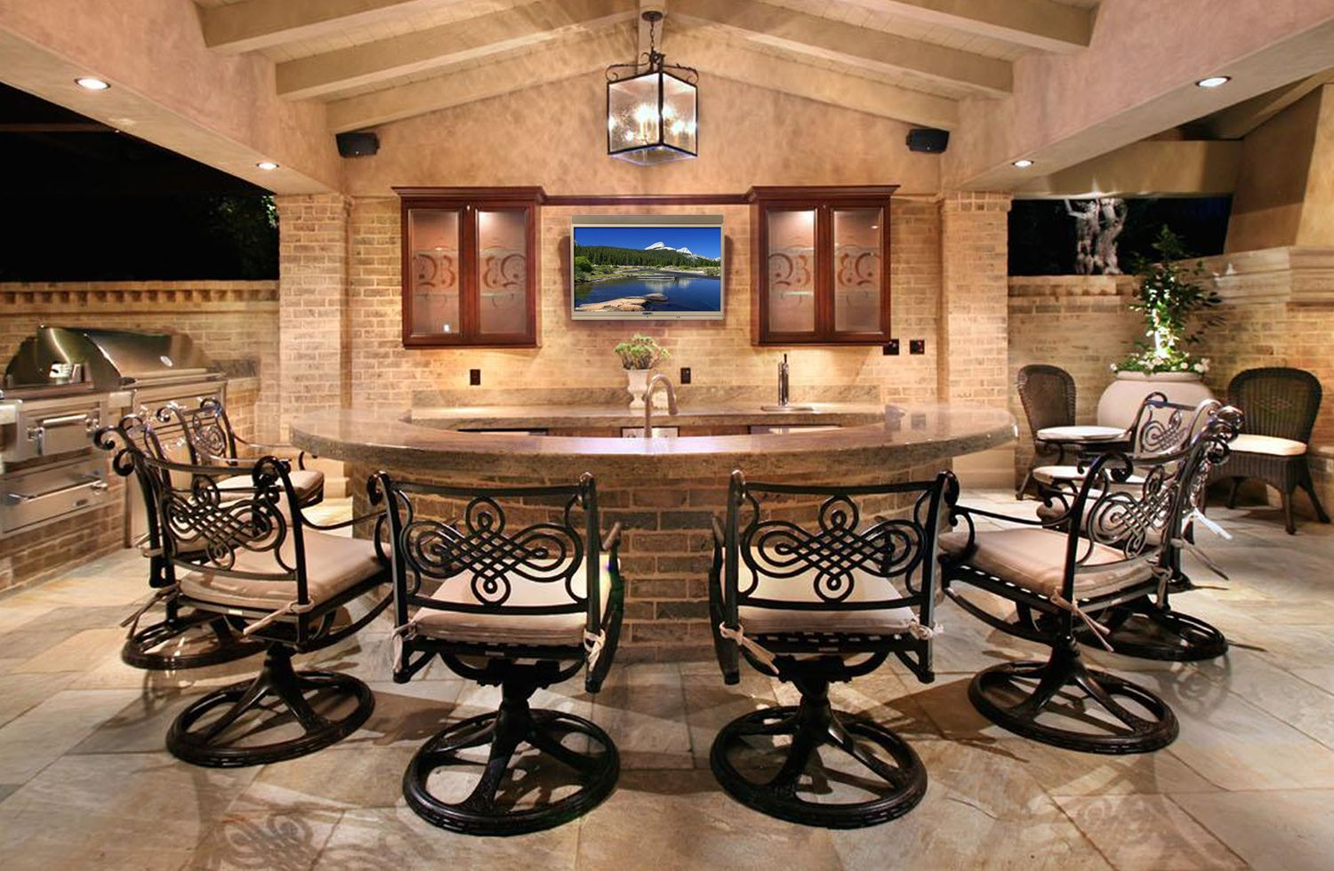 Outdoor Tv Options Skyvuelove Thismy Forever Home Will Have Best Outdoor Kitchen Bar Designs 2018