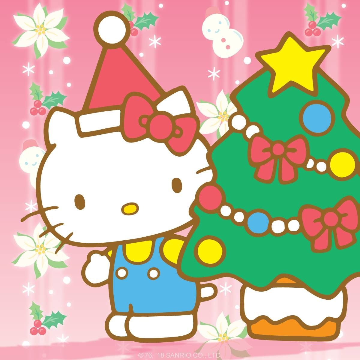 Happy Holidays From HelloKitty ❤️