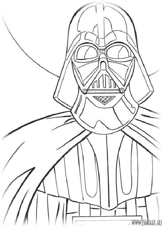 Звездные войны (Star Wars) - раскраски (147 шт.)   По ...