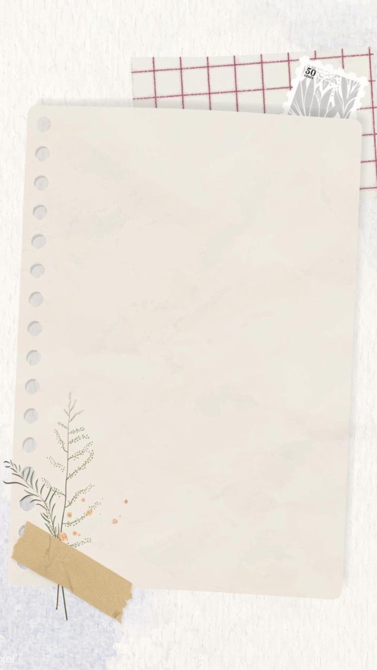 ورقة للكتابة Kartu Catatan Desain Pamflet Templat Power Point