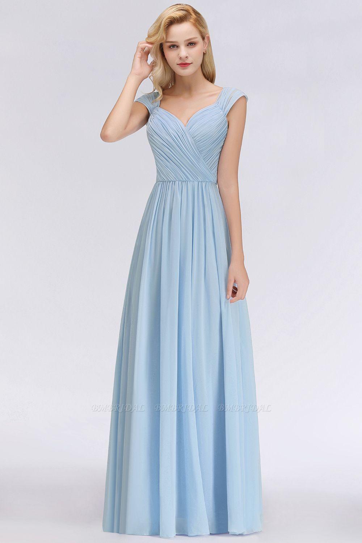 11+Latest Chiffon Sweetheart Bridesmaid Dresses