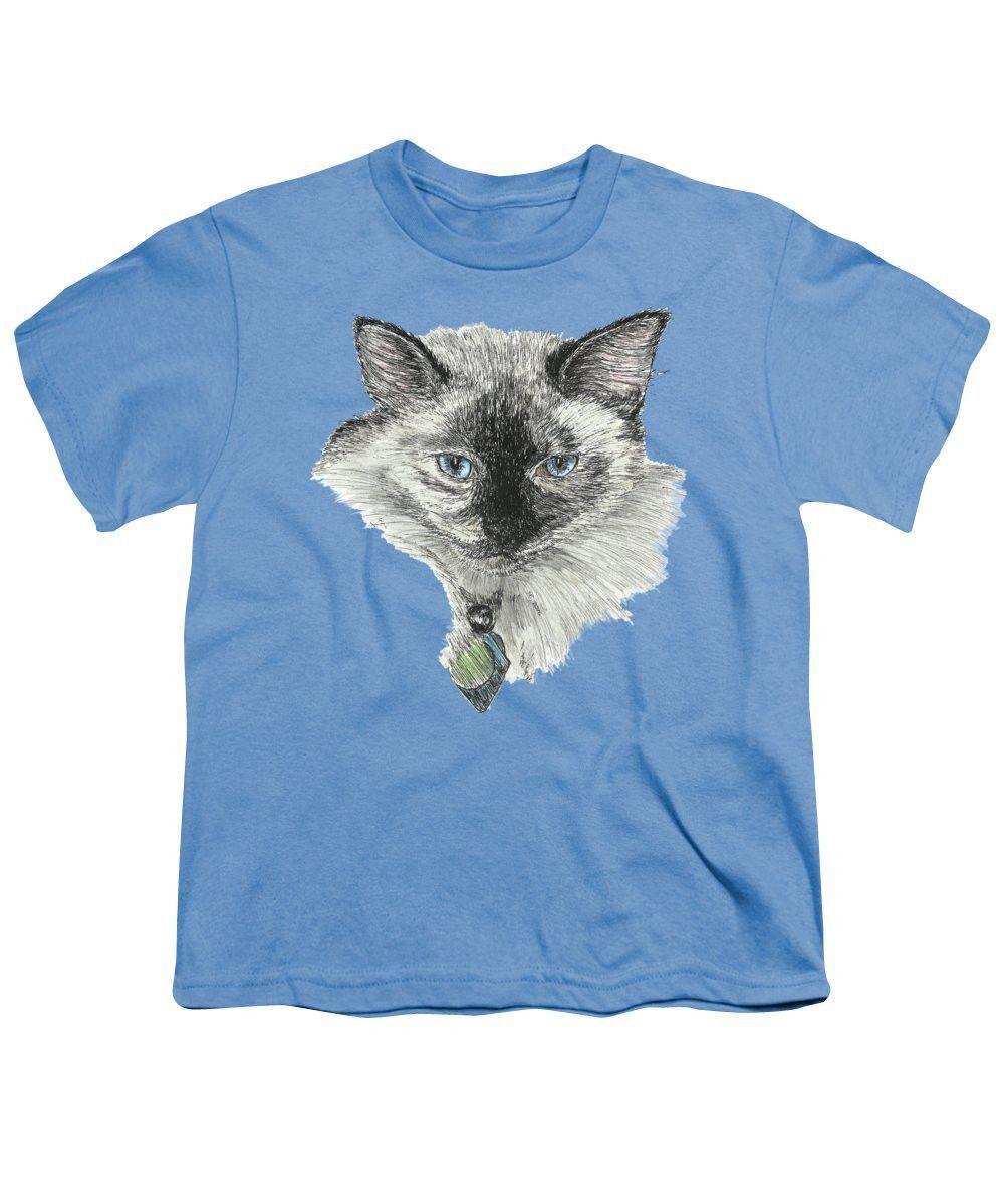 Siamese Cat - Youth T-Shirt