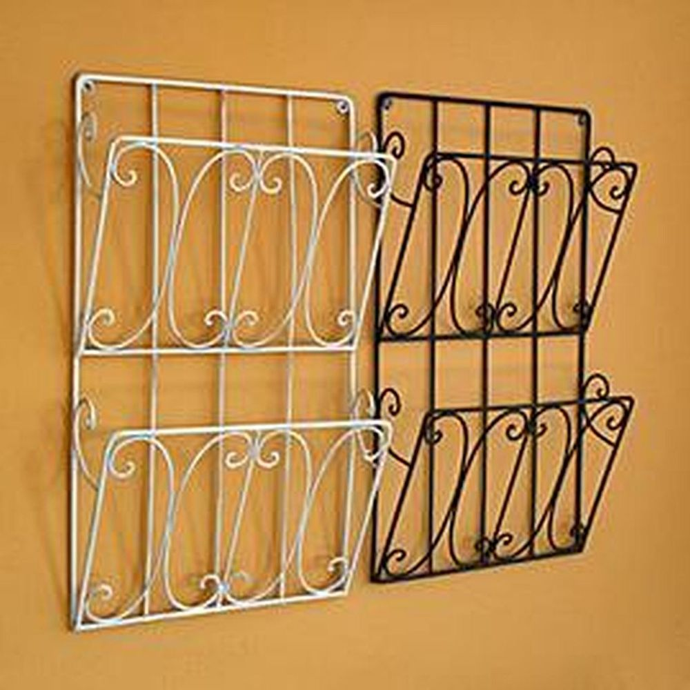 wall mounted magazine rack ikea