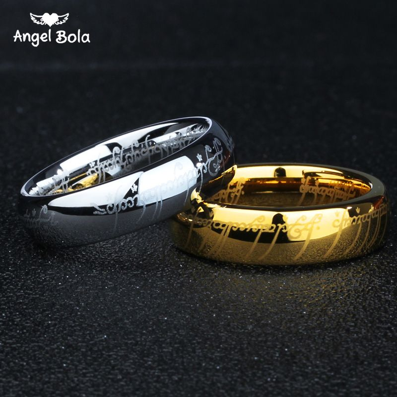 Click To Buy Lord Of The Ring Titanium Steel Wedding Rings
