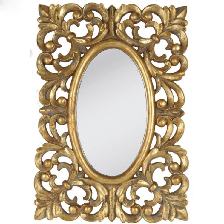 """Ornate Oval Gold Antique Looking Leaf French Style 4/""""x6/"""" Picture Photo Frame"""