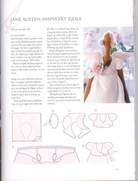 Don\'na du lar: Quero fazer a tilda Jane Austen! | Tilda | Pinterest ...