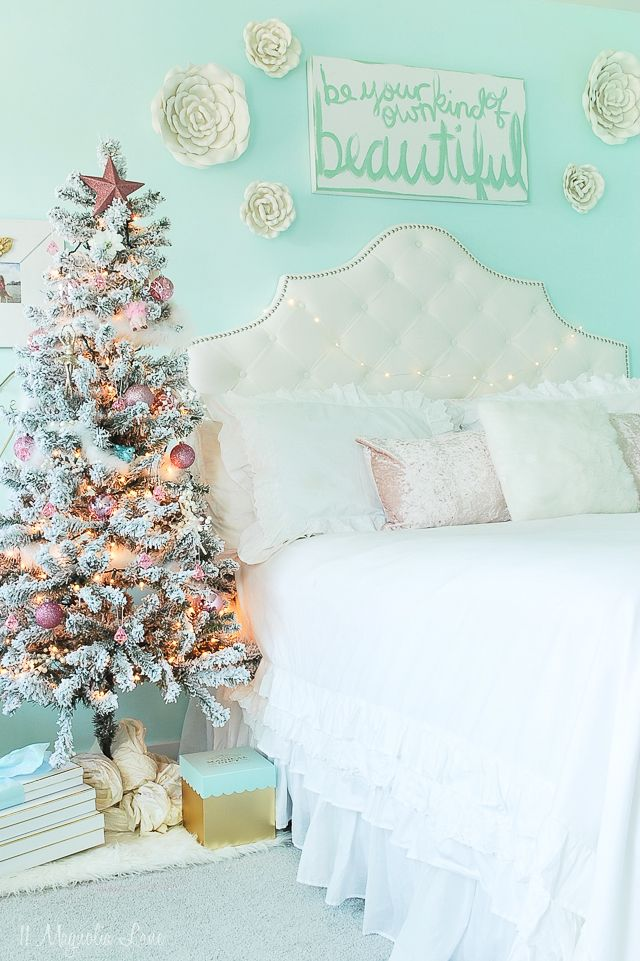 Christmas Decor Bedroom Tour | 11 Magnolia Lane