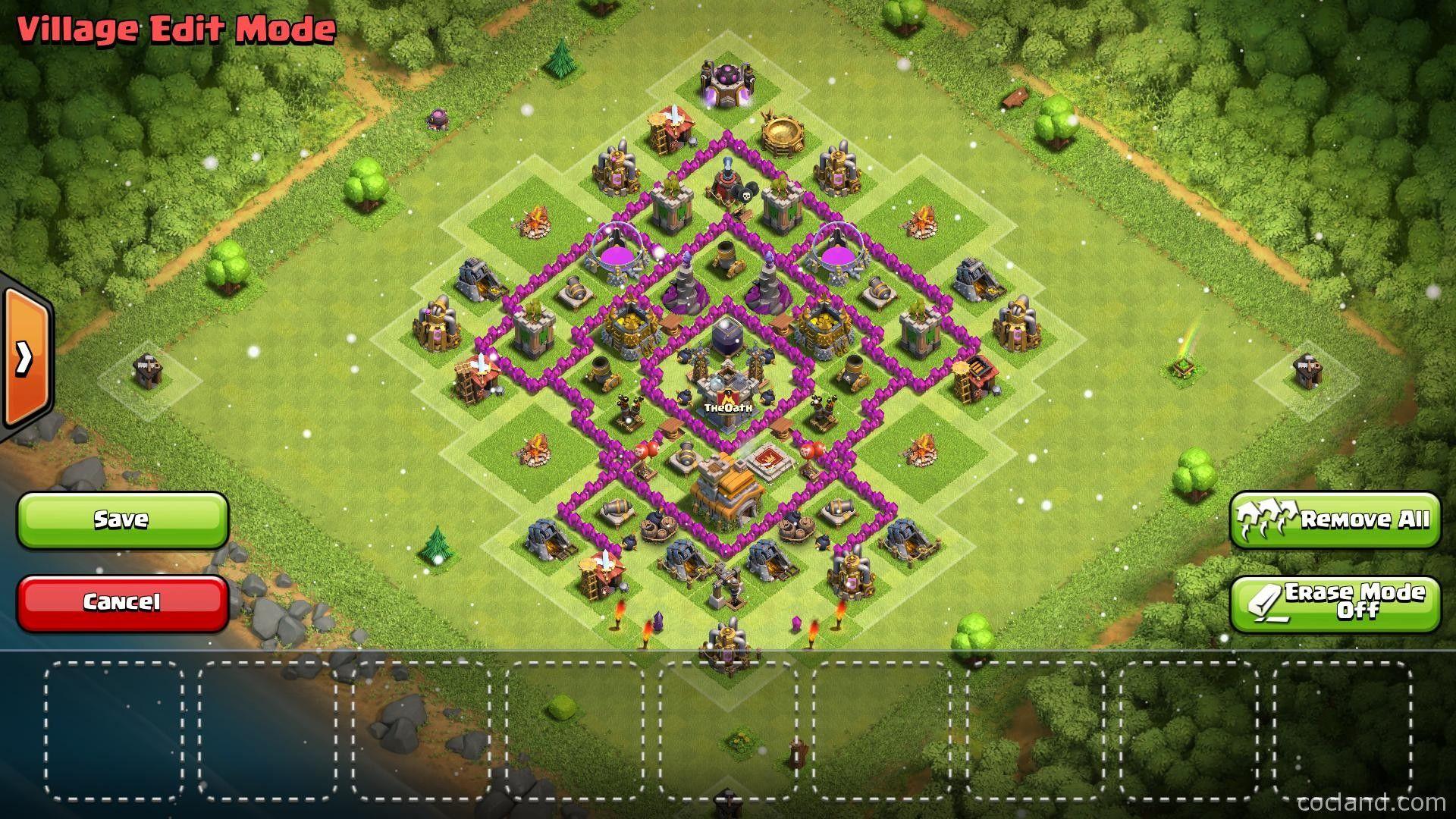 Base Coc Th 7 Paling Kuat 3