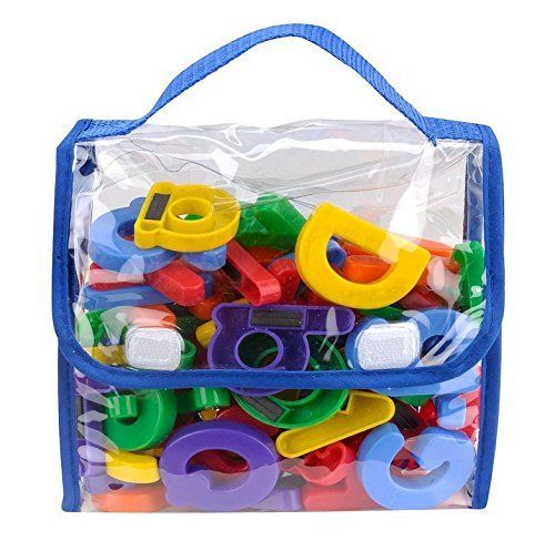 Edukid Toys Magnetic Letters And Numbers 72 Pcs In A Tote Bag Edukid Toys Http Www Amazon Educational Toys For Kids Best Educational Toys Magnetic Letters